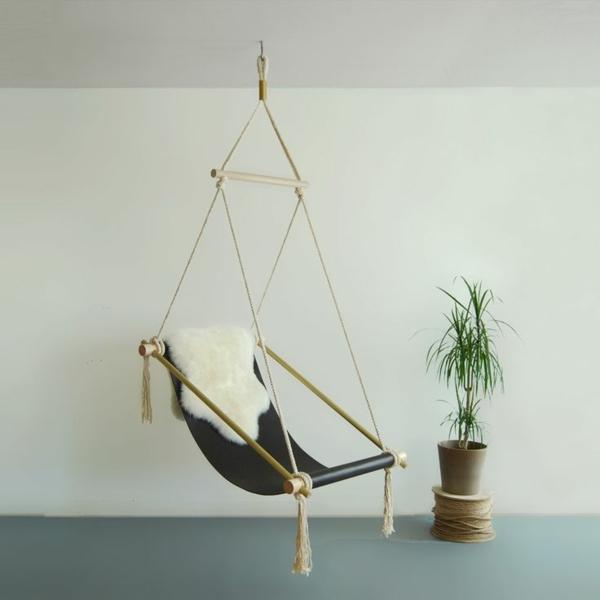 h ngematte selber machen st ck mit holz gestell oder st nder. Black Bedroom Furniture Sets. Home Design Ideas