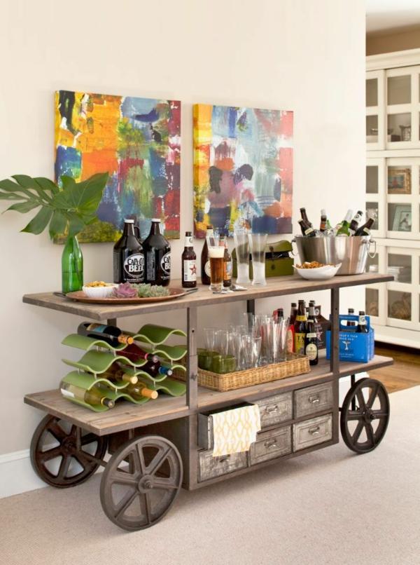 industrial design m bel f r mehr stil in ihrem wohnraum. Black Bedroom Furniture Sets. Home Design Ideas