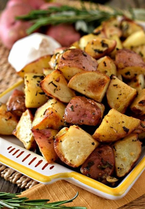 Weihnachten Kalorienarmes Essen Gesunde Ernährung kartoffel