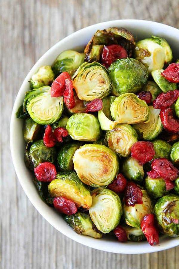 Kalorienarmes Essen zu Weihnachten gemüse