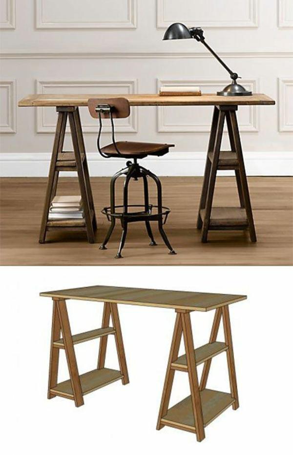 antike polstermöbel Möbel restaurieren holz bürotisch