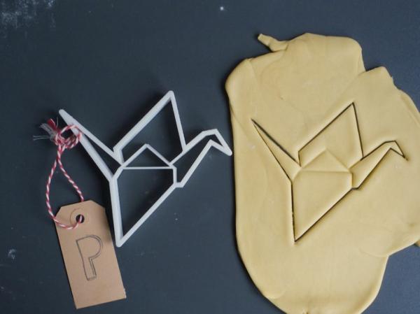 Originelle Geschenkideen für Freundin geschenk beste freundin kochen origami form