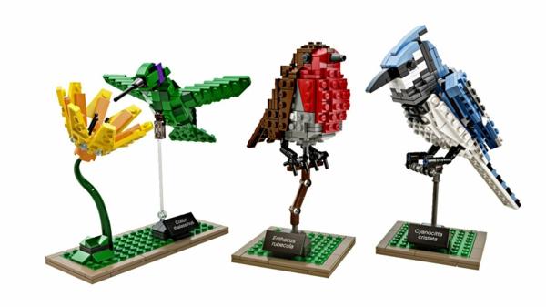 Originelle Geschenkideen für Freundin lego vögel