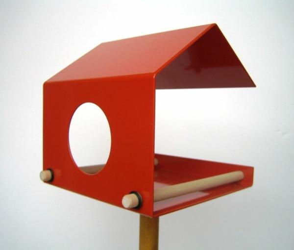 Originelle Freundin verrückte geschenke rot vogelhaus