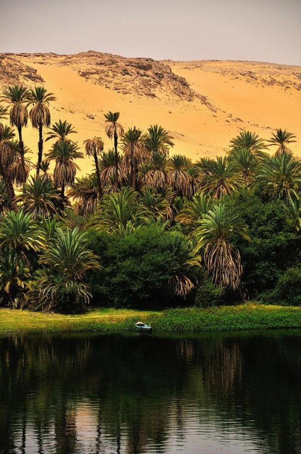 Reise Ägypten urlaub fluss nil sand