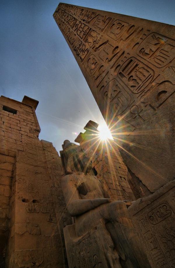 Reise nach Ägypten urlaub tempel luxor
