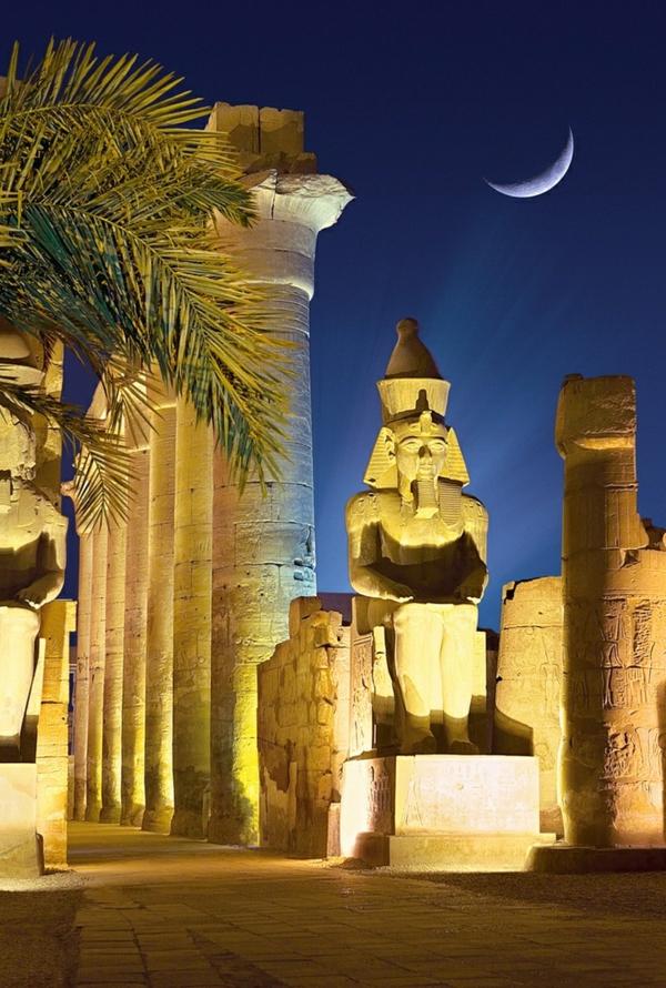 Reise verkehr Ägypten urlaub mond