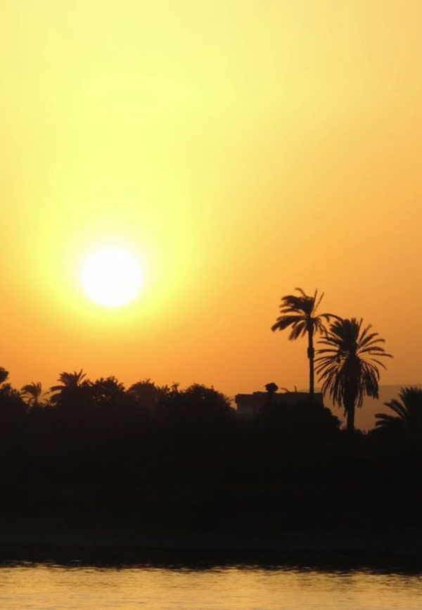 Reise sonne Ägypten urlaub sonnenuntergang