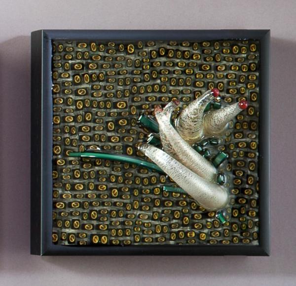 Shayna Leib Wanddekoration aus Glas wasser Glas organismen