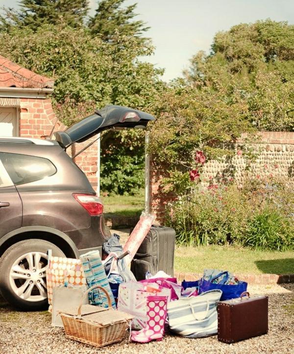 Silvesterreisen mit Kindern mit auto gepäck