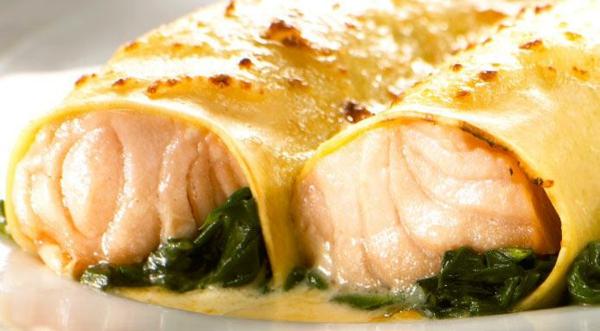 Spinat Lachs Lasagne rezept spinatlasagne Weihnachtsessen Rezepte