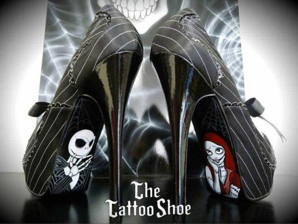 Tattoovorlagen Motive für sexy High Heels design