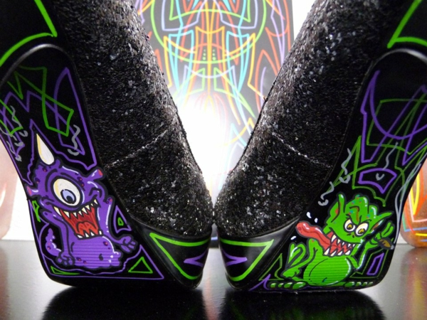 Tattoo vorlagen und Motive für sexy High Heels monster