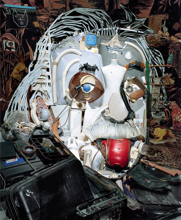 Umwerfende anamorphe Porträts von Bernard Pras einstein