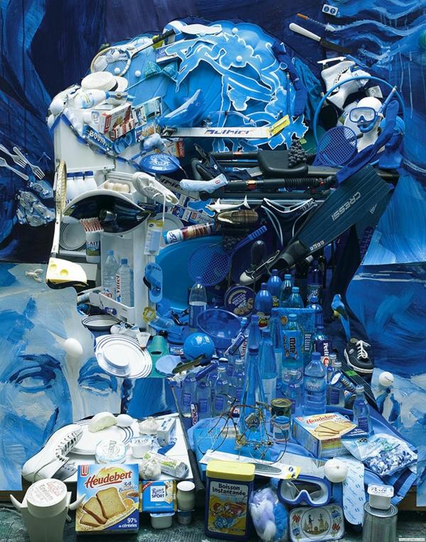 Umwerfende anamorphe Porträts von Bernard Pras ideen