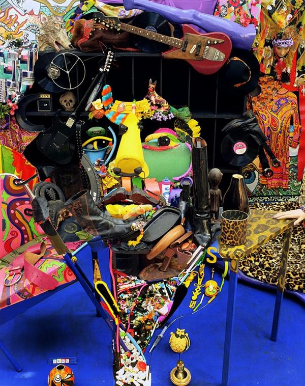 Umwerfende anamorphe Porträts von Bernard Pras mann