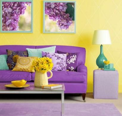 Wie Kann Man Die Wandfarben Kombinieren? U2013 Schöne Komplementärfarben
