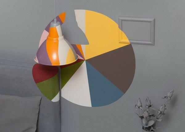 kombinieren wandfarben komplementärfarben passen