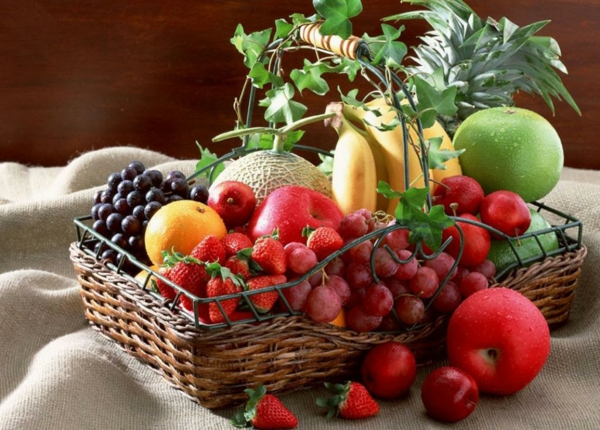 Was ist gesunde Ernährung korb