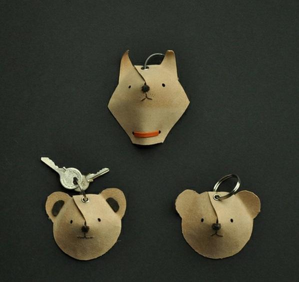 selber machen schlüssel tiere weihnachtsgeschenke