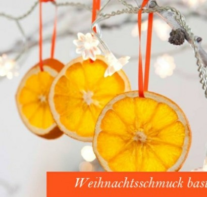 weihnachtsschmuck basteln kreative bastelideen mit orangen. Black Bedroom Furniture Sets. Home Design Ideas