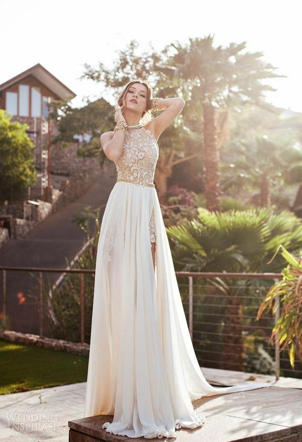 lang günstig luxus abendkleider glamour