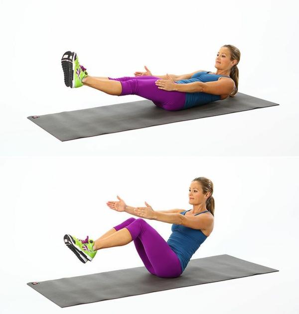 abnehmen-bauch-Gymnastikübungen