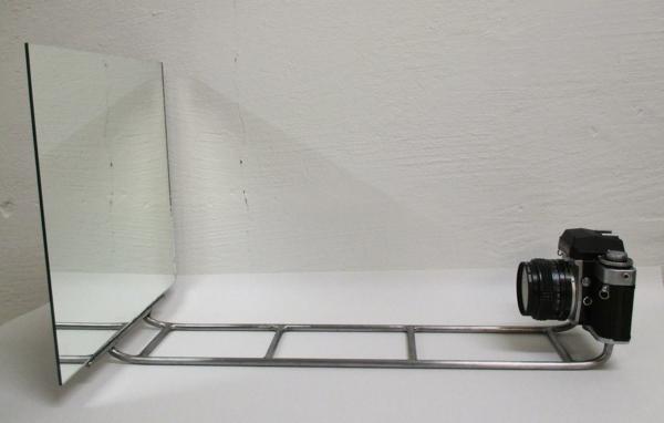 abstrakte kunst benjamin nordsmark selfie kamera spiegel
