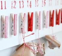 Wollen Sie einen Adventskalender selber basteln – kreative Bastelideen für Sie