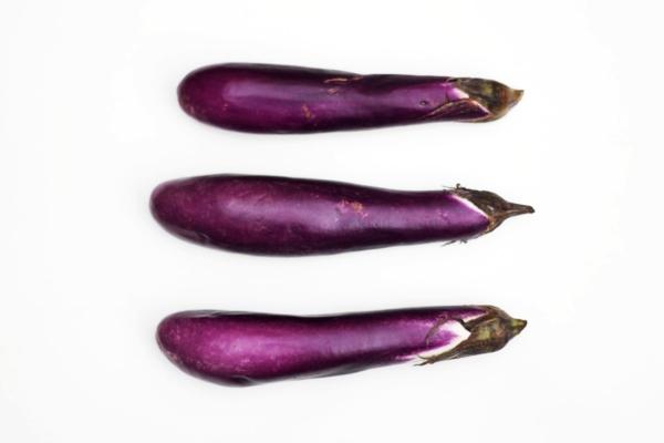 auberginen zubereiten frisches gemüse