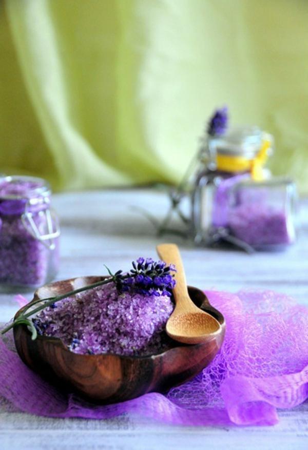 badesalz diy lavender