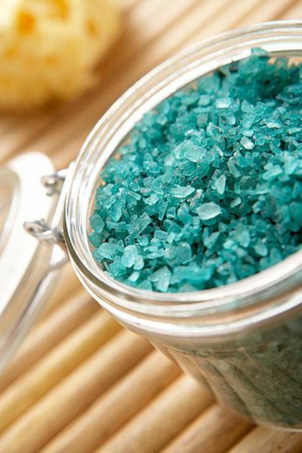 Badesalz selber machen ein leichtes rezept viele varianten - Gartentrampolin stiftung warentest ...