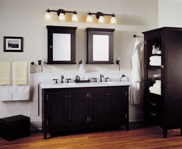 badezimmer lampen badbeleuchtung traditionel