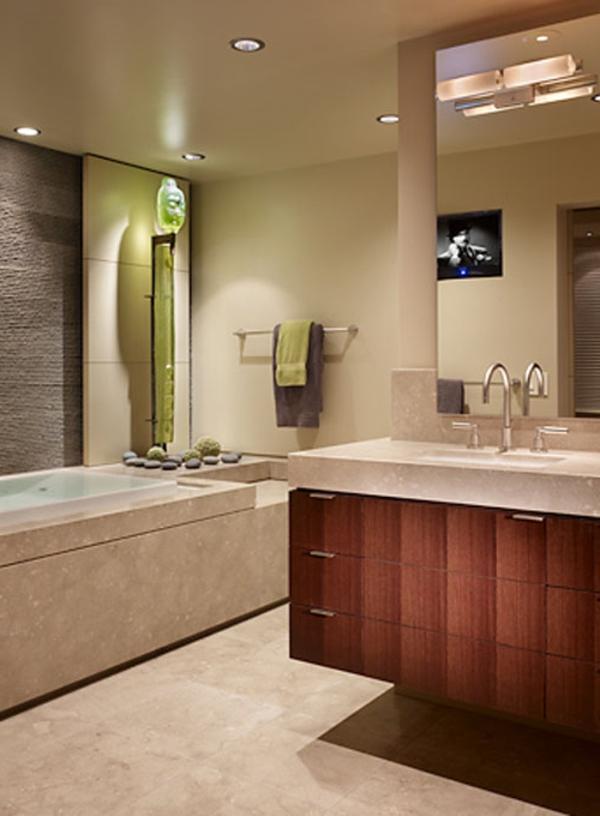 badezimmerlampen neonröhre einbauleuchten deckenleuchten