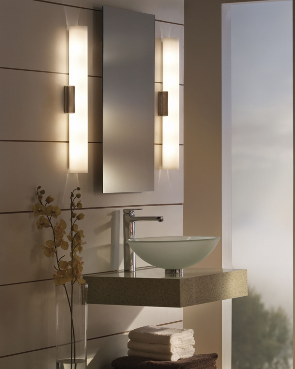 badezimmerlampen neonröhren zwei