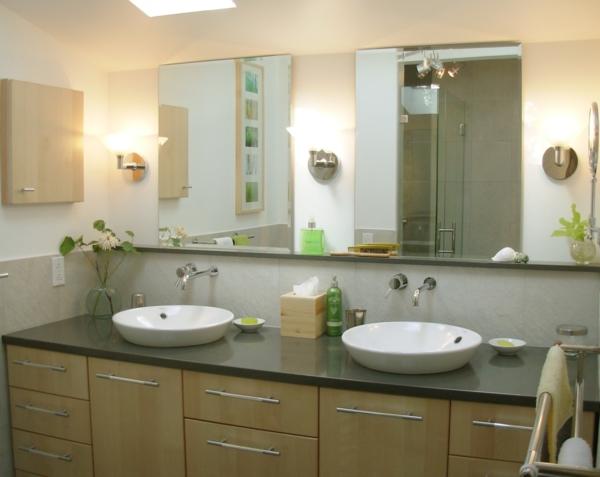 badezimmerlampen wandleuchten badbeleuchtung doppelt waschbecken