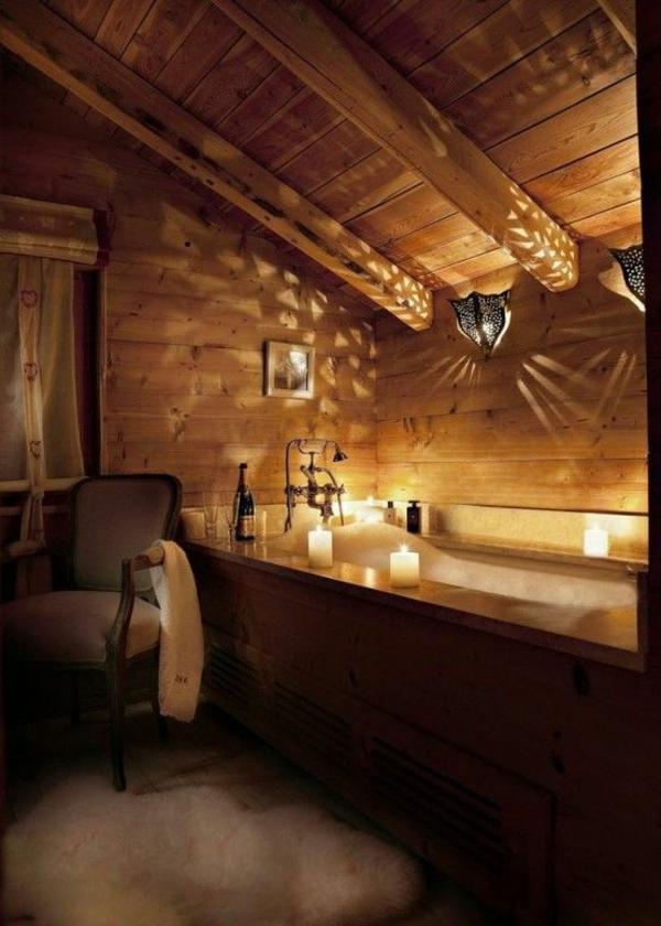 leuchten Günstige Badezimmerlampen kerzen holz
