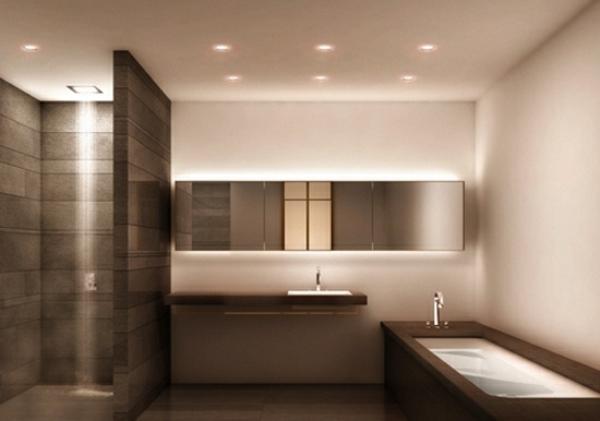 G nstige badezimmerlampen aussuchen for Bad deckenbeleuchtung