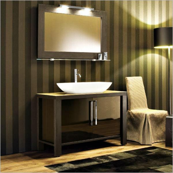 badezimmerleuchten badlampe wandlampe bad streifen