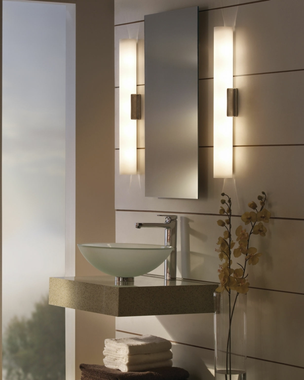g nstige badezimmerlampen aussuchen. Black Bedroom Furniture Sets. Home Design Ideas