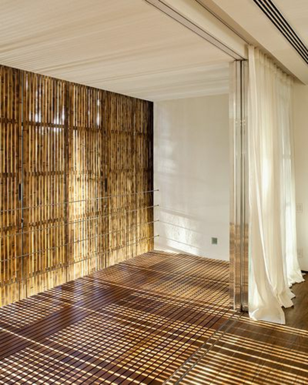 bambus rollo vertikal groß naturfarben