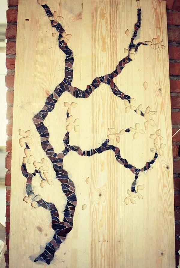 h tten sie gern ein mosaik waschbecken aus holz zu hause. Black Bedroom Furniture Sets. Home Design Ideas