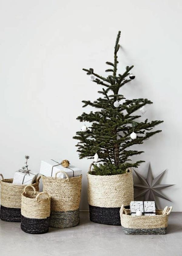 basteltipps weihnachten weihnachtsbaumschmuck