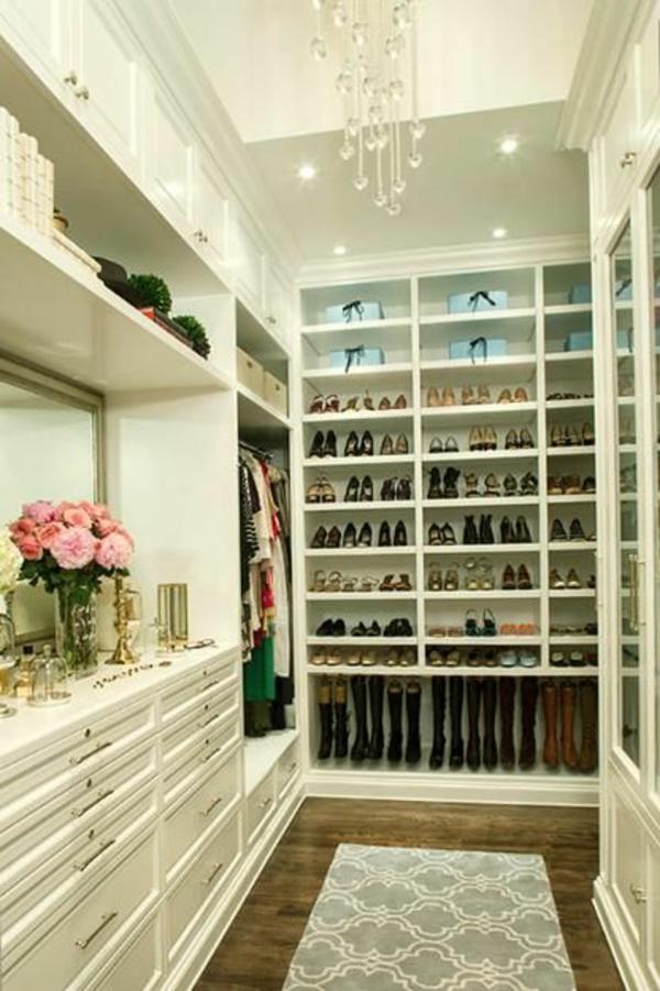 Begehbarer kleiderschrank frau schuhe  Begehbarer Kleiderschrank - wie Sie die perfekte Ordnung schaffen