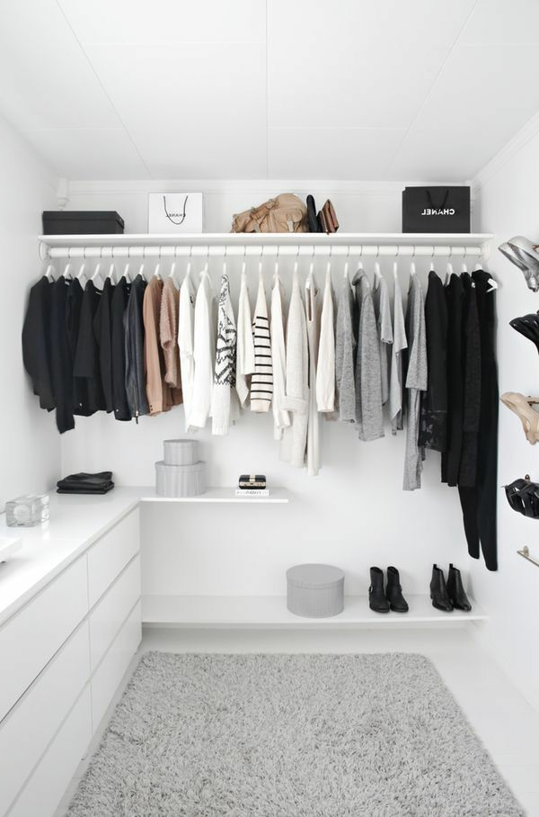Begehbarer Kleiderschrank - wie Sie die perfekte Ordnung ...