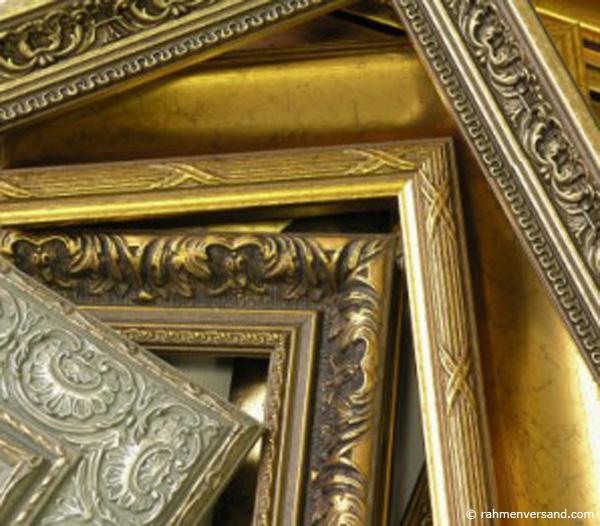 Bilderrahmen in barock optik aufh bschen - Babyzimmer barock ...