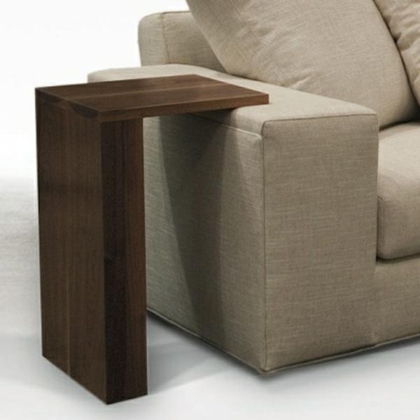 couchtisch holz beisteltisch wohnzimmer möbel sofa armlehne