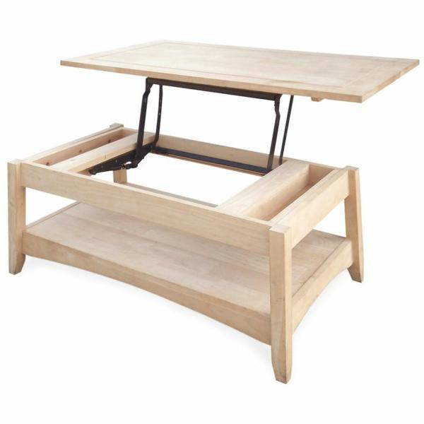 Couchtisch Holz HOhenverstellbar Ausziehbar ~ ausziehbare couchtische