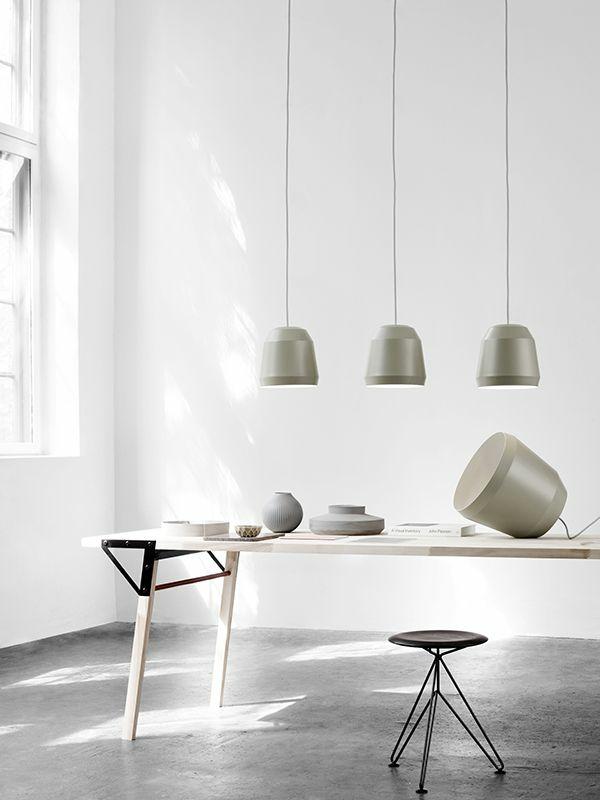 dänisches design möbel cecilie manz pendelleuchten esszimmer