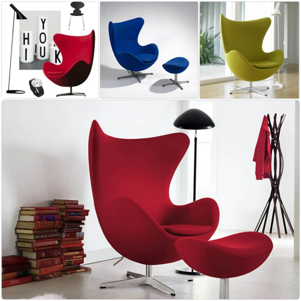 dänisches design möbel Arne Jacobsen aj egg chair stuhl